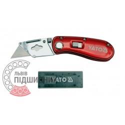 НІж - трапеція 61x33x0.5 мм / 6 шт (YATO) | YT-7534