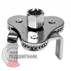 Cьемник масляного фильтра ''краб'' 63-120 мм / на квадрат 1/2'' | 3/8'' [YATO] | YT-0826