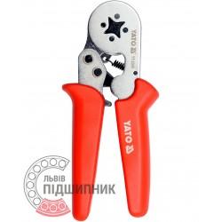 Ratchet crimping pliers 0.2-6 mm2 (YATO) | YT-2305