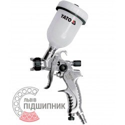 Spray gun HVLP with fluid cup 0.6 L / sprayer 1.5 mm (YATO)   YT-2341