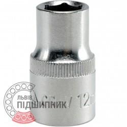 "Шестигранна коротка голівка 1/2\"" дюйм / 12 мм (YATO) | YT-1205"