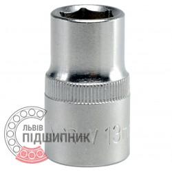 "Шестигранна коротка голівка 1/2\"" дюйм / 13 мм (YATO) | YT-1206"