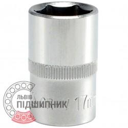 "Шестигранна коротка голівка 1/2\"" дюйм / 17 мм (YATO) | YT-1210"