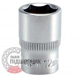 """Hexagonal socket 1/4\"""" inch / 12 mm (YATO)   YT-1411"""