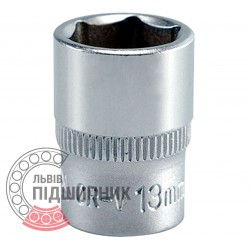 "Hexagonal socket 1/4"" inch / 13 mm (YATO) 