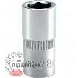 "Hexagonal socket 1/4"" inch / 8 mm (YATO) 