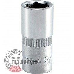 """Hexagonal socket 1/4\"""" inch / 8 mm (YATO)   YT-1407"""