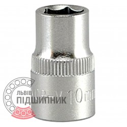 "Hexagonal socket 3/8"" inch / 10 mm (YATO) 