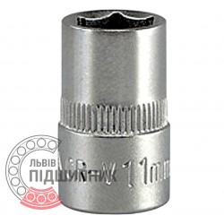 "Hexagonal socket 3/8"" inch / 11 mm (YATO) 