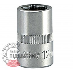 "Hexagonal socket 3/8"" inch / 12 mm (YATO) 