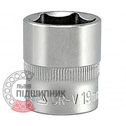 "Шестигранна коротка голівка 3/8\"" дюйм / 19 мм (YATO) | YT-3814"