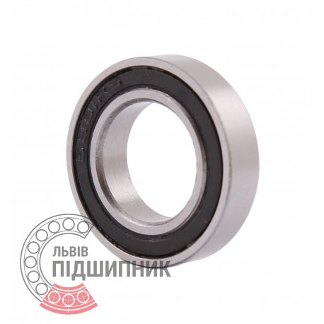 61801-2RS [CPR] Deep groove ball bearing. Thin section.