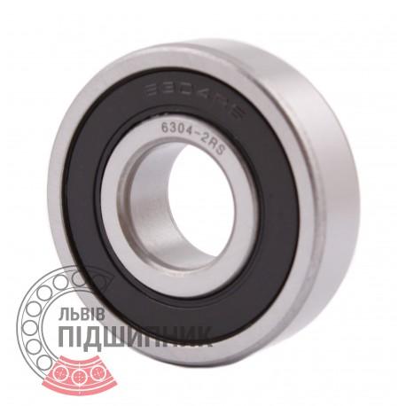 Deep groove ball bearing 6304 2RS