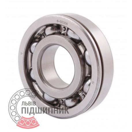 6306N   6-50306A [GPZ-34 Rostov] Deep groove open ball bearing