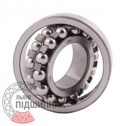1206 [SNR] Double row self-aligning ball bearing