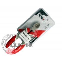 Diagonal side cutting pliers 160 mm (YATO) | YT-2036