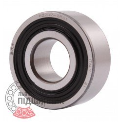 Deep groove ball bearing 62202-2RSH [SKF]