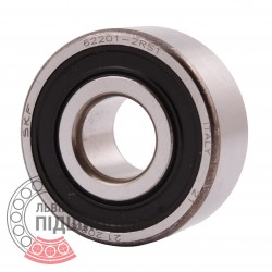 Deep groove ball bearing 62201-2RSH1 [SKF]
