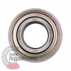 SA205 [CX] Radial insert ball bearing