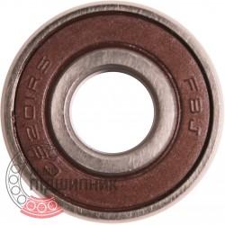 201NPPB | CS201-2RS [FBJ] Self-aligning deep groove ball bearing