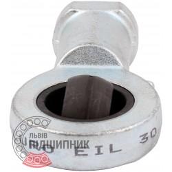 EIL 30 | SIL 30 [Fluro] Шарнірна головка з сферичним підшипником ковзання