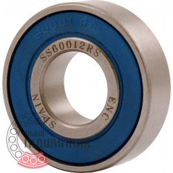 6001-2RS ENC INOX [BRL] Deep groove staineless ball bearing
