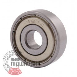 80027 | 627-2Z [CPR] Мініатюрний закритий кульковий підшипник