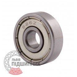 80026 | 626-2Z [CPR] Мініатюрний закритий кульковий підшипник