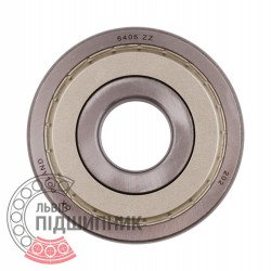 6406 ZZ [CX] Deep groove sealed ball bearing