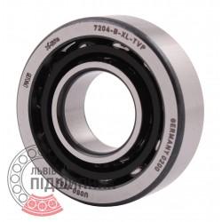 7204-B-XL-TVP [FAG Schaeffler] - 46204 - Single row angular contact ball bearing