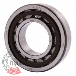 NU.207.E.G15.J30 [SNR] Cylindrical roller bearing