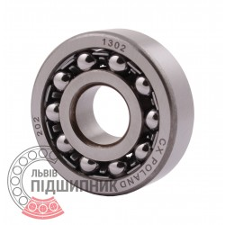1302 [CX] Double row self-aligning ball bearing