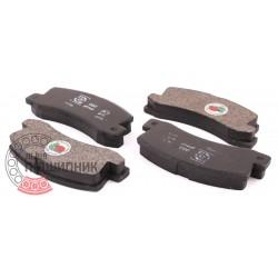 (Toyota) Brake pads [DBB] | DBB 214 00 / set
