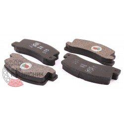 (Toyota) Brake pads [DBB]   DBB 214 00 / set