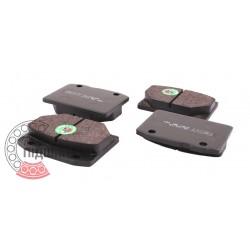 (VAZ: 2101-2107, Wartburg) Brake pads [BEST]   BE 101 / set