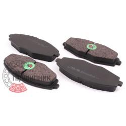 (Daewoo: Lanos, Nexia) Brake pads [BEST]   BE 335 / set