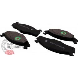 (Volkswagen) Brake pads [BEST]   BE 364 / set
