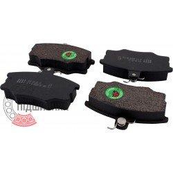 (Audi, Volvo, Volkswagen) Brake pads [BEST]   BE 253 / set