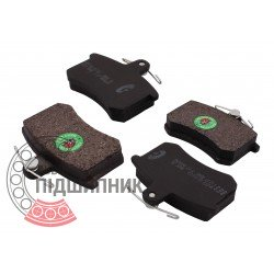 (Alfa Romeo: 33, Audi: 100/A6) Brake pads [BEST]   BE 369 / set