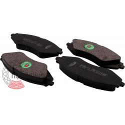 (Daewoo) Brake pads [BEST]   BE 336 / set