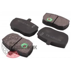(DAF: 400) Brake pads [BEST]   BE 433 / set