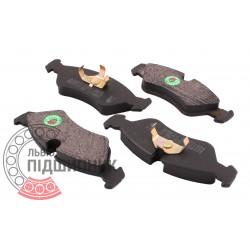(Daewoo: Nexia, Lanos) Brake pads [BEST]   BE 433 / set