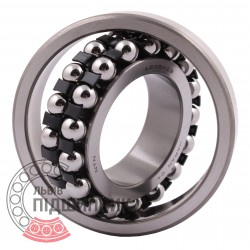 1208.SKC3 [NTN] Double row self-aligning ball bearing