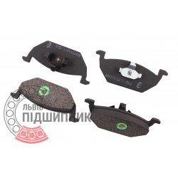 Audi, Skoda, VW Brake pads [BEST]   BE 6381 / set