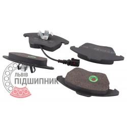 Audi, Skoda, VW Brake pads [BEST] | BE 607 / set