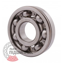 6410 N [CPR] Open ball bearing with snap ring groove on outer ring
