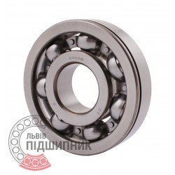 6408 N [CPR] Open ball bearing with snap ring groove on outer ring