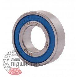6003 2RS ENC INOX [BRL] Deep groove ball bearing - stainless steel