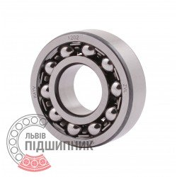 1202 [ZVL] Double row self-aligning ball bearing