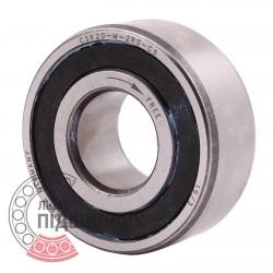CSK20-M-2RS-C5 [Stieber] Freewheel | One way combined bearing